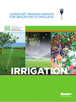 Training Manual for Irrigation Technicians