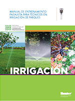 Training Manual for Irrigation Technicians-Spanish