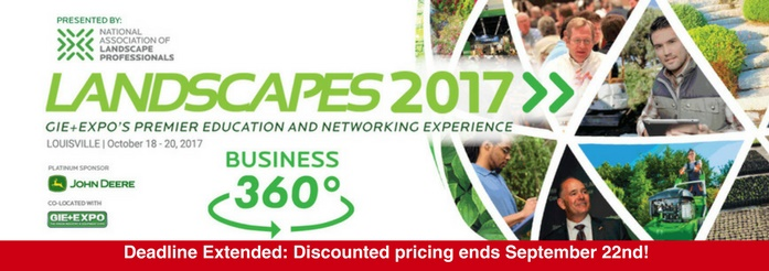 LANDSCAPES Discount Pricing Ends Soon