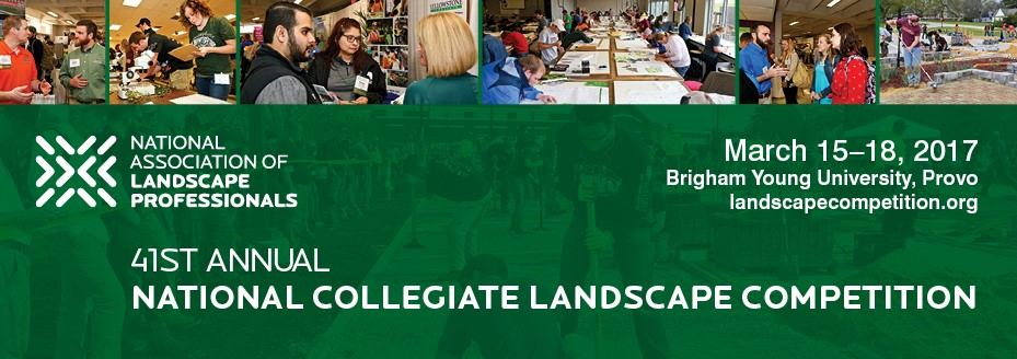 National Collegiate Landscape Competition 2017