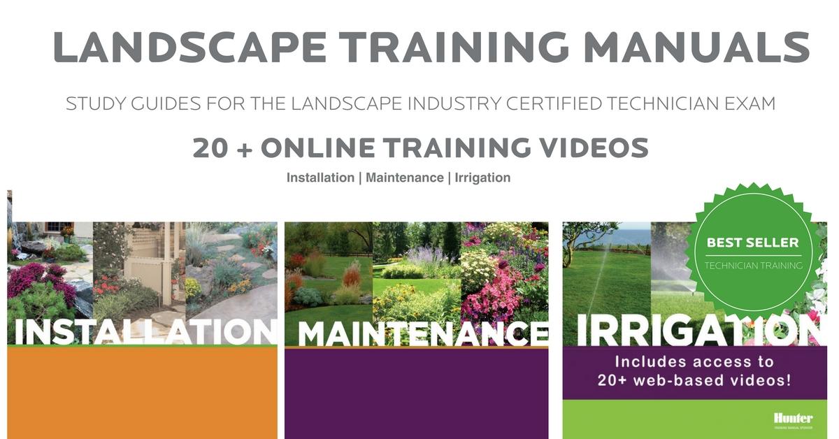 Landscape Training Manuals