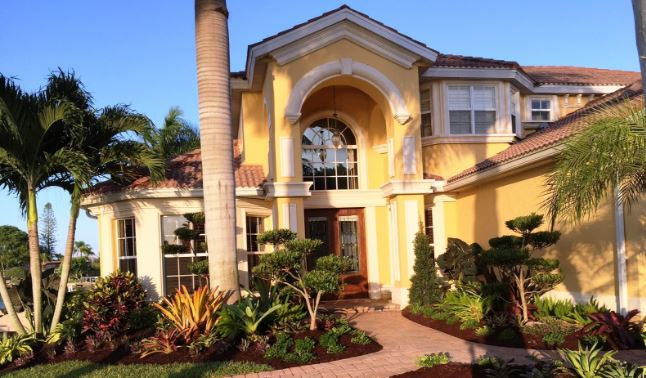 Cape Coral Front Yard Renovation